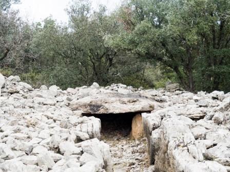 Viols le Fort (30 km de Montpellier) Tombes préhistoriques