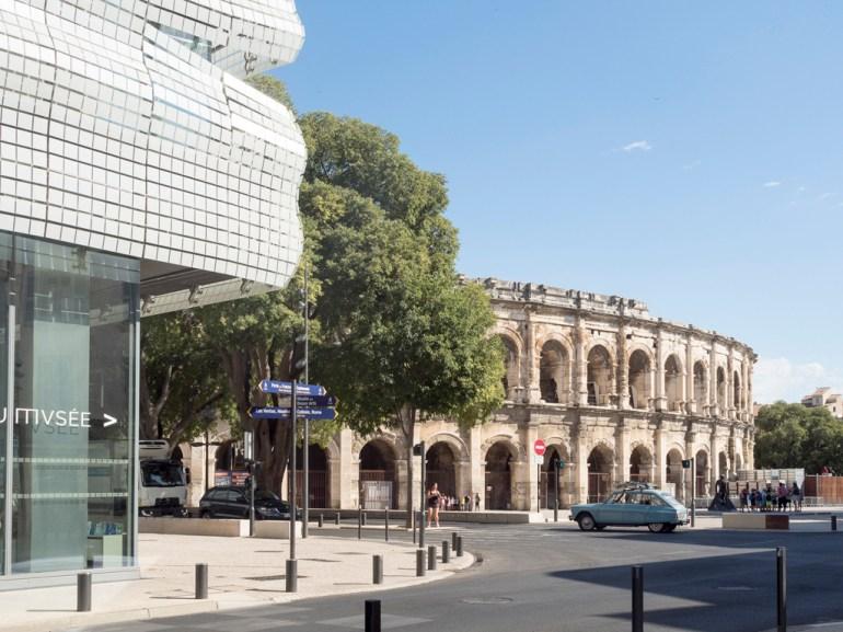 Nîmes Arènes et musée de la romanité