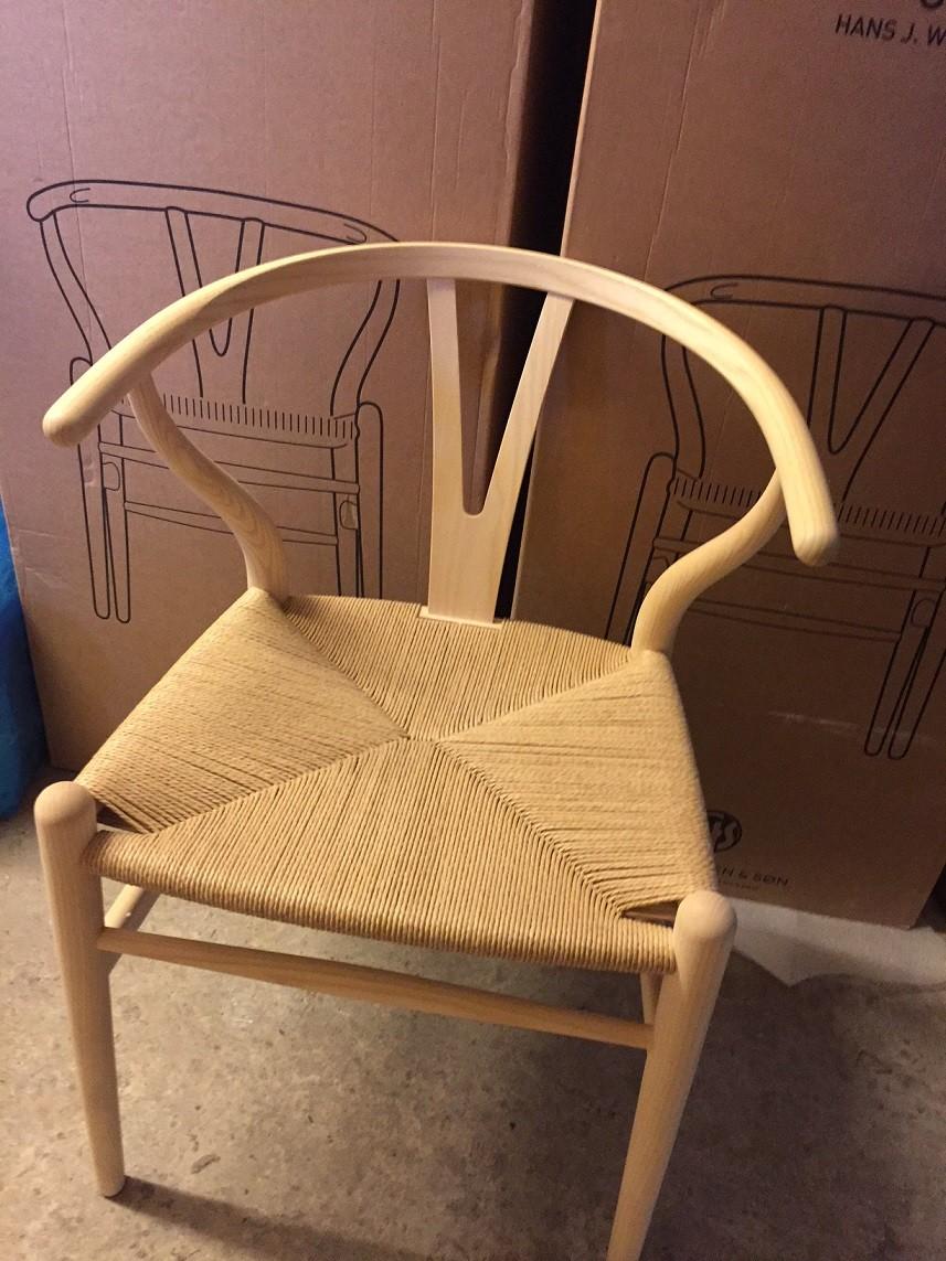 Veldig Tilbud på Wegner Y-stol CH24 + FRI fragt - Olai Furniture FX-96