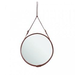 Spejl, Adnet mirror (Brun/Stor) - GUBI