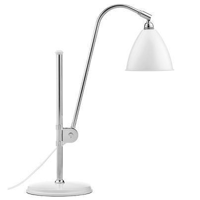 Bordlampe BL1, krom/mat hvid - BestLite