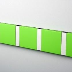 KNAX Knage 4, Lime-Grå - LoCa