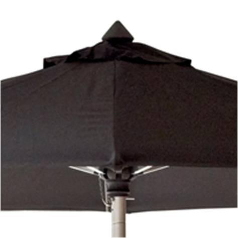 Hamilton parasol m/tilt dia. 3m. sort - Cane-Line
