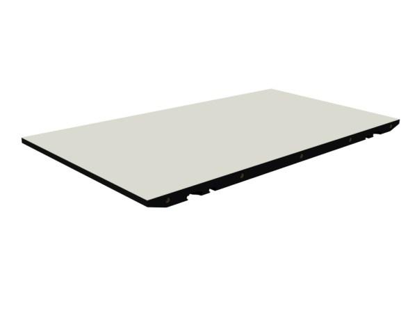 ByKATO - T1 tillægsplade - hvid laminat