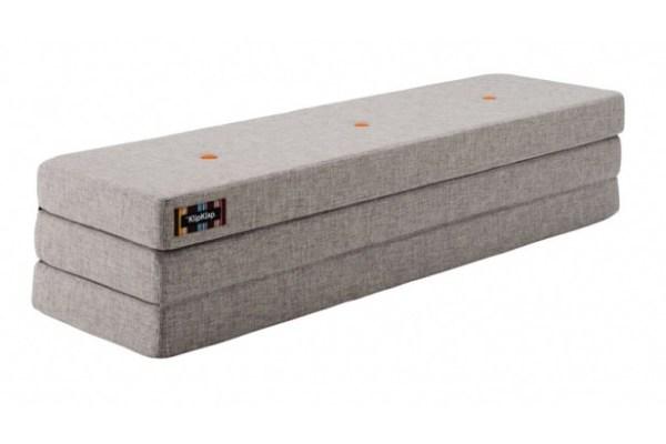 KlipKlap 3 fold i grå