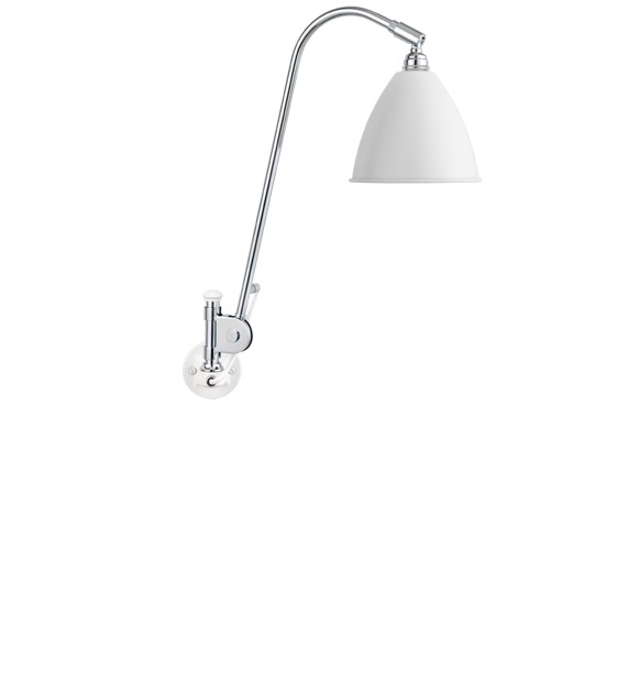 Bestlite BL6 væglampe matt hvid