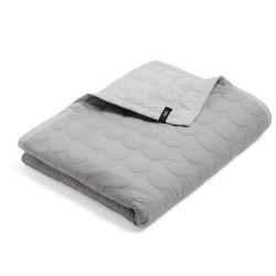 Hay - Mega Dot Quilt - Light grey 235x245 cm.