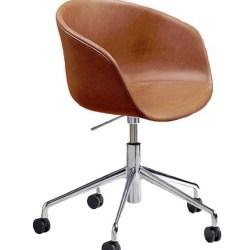 About A Chair med Gaslift (AAC 53) - Silk Læder
