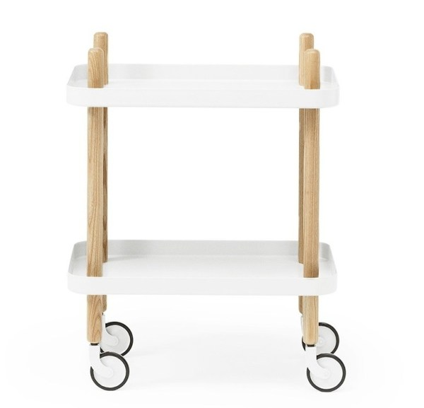 Normann - Block table - Hvid