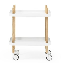 Normann - Block table - Hvid