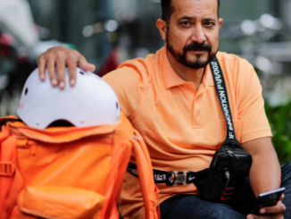 Afghan minister becomes bicycle courier in Germany after moving there for a better life