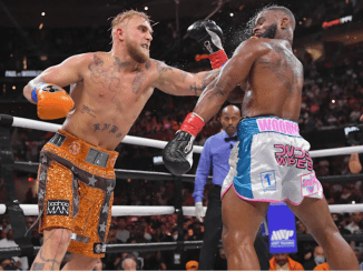 Jake Paul beats former UFC champion Tyron Woodley to remain undefeated