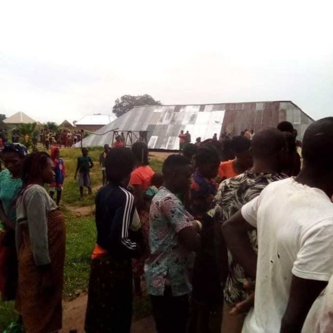 Two die as church building collapses during service in Taraba (photos)