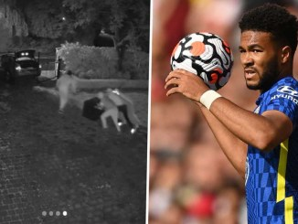 Chelsea star Reece James releases videos showing burglars invaded his home to steal his Champions League & Euro 2020 medals while he played football