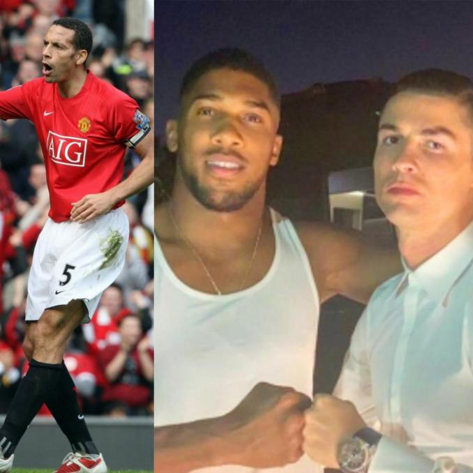 Rio Ferdinand advices Anthony Joshua on what he can learn from Cristiano Ronaldo ahead of world title defence against Oleksandr Usyk