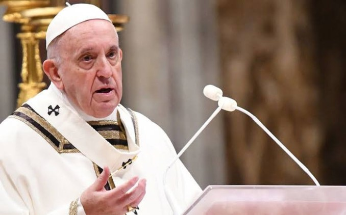 I pray for those who have died, those Injured and the entire population - Pope Francis speaks on insecurity in Nigeria