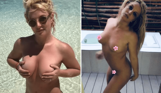 Britney Spears shares nude photos from vacation after conservatorship win