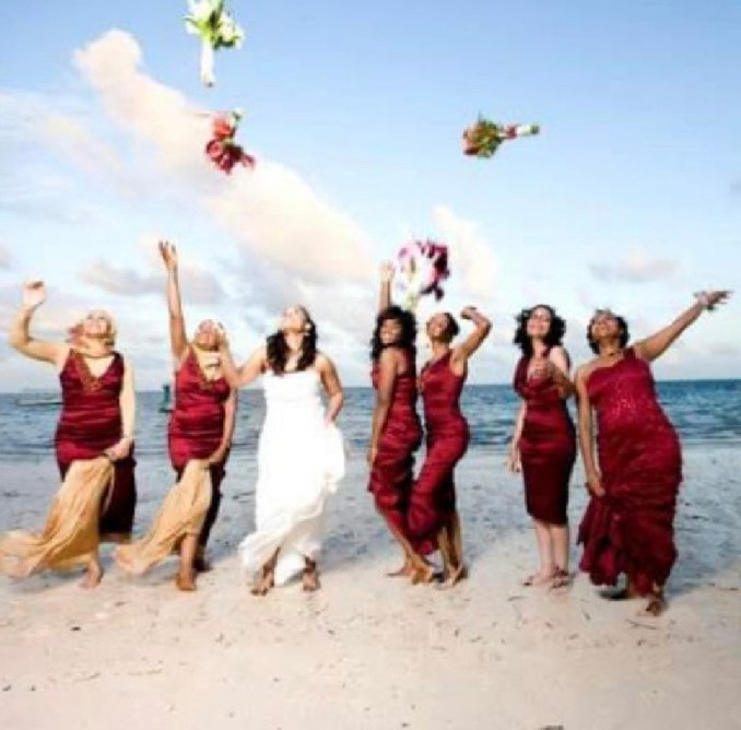 Nurse reveals extent her Muslim bridesmaids went to be there for her during her Catholic wedding