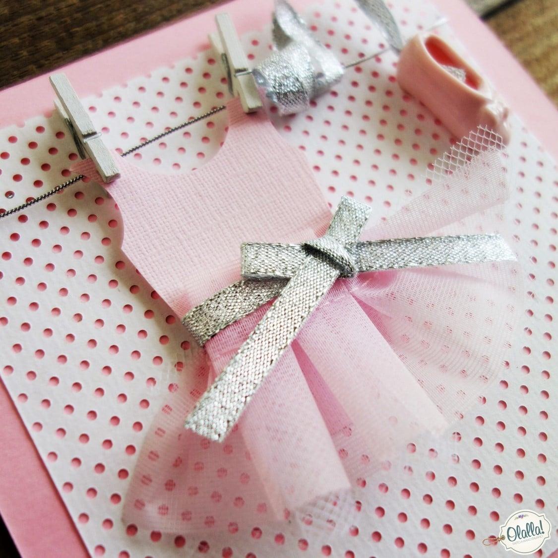 Biglietto Invito Per Festa Di Compleanno Bambina La Ballerina Olalla