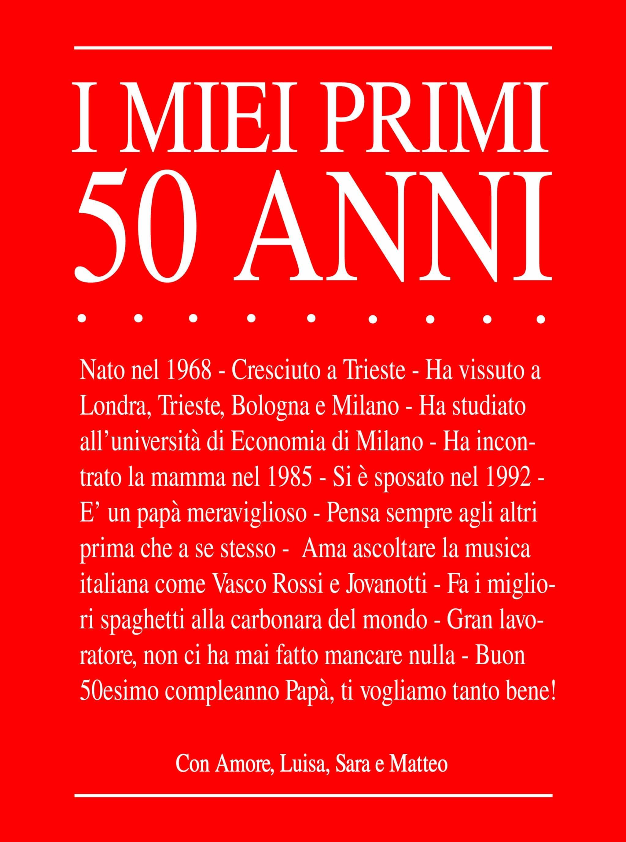 Frasi Per Inviti Di Compleanno 50 Anni