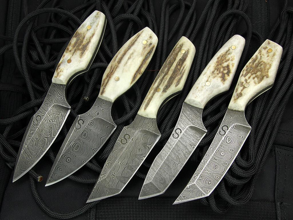 Stag Neck Knives