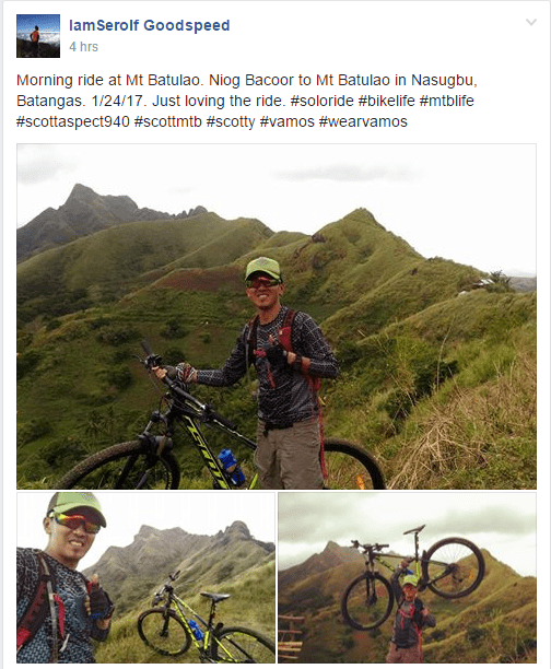 Mountain Bike lovers will trend in the Philippines for 2017