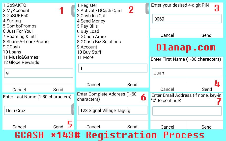 Register for Globe GCash Step by Step Guide