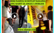 Furious gay caught his boylet with a girl in Angel's Burger – The Angel's Burger Scandal