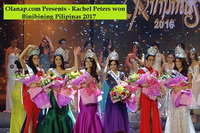 Rachel Peters won Binibining Pilipinas