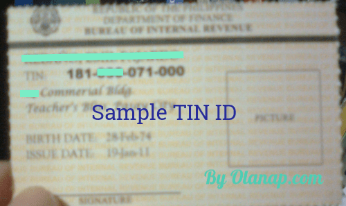 How to get a TIN ID so you won't forget your TIN