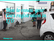 How to renew car registration in LTO