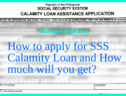 How to apply for SSS Calamity Loan and how much will it be
