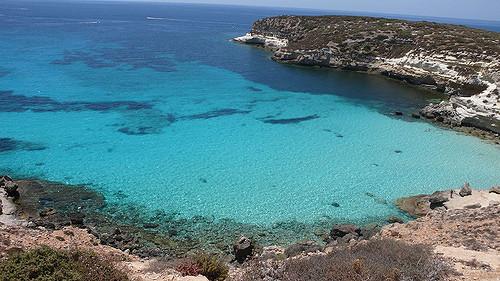 Spiaggia dei Conigli, Lampedusa, Olaszország legszebb strandja