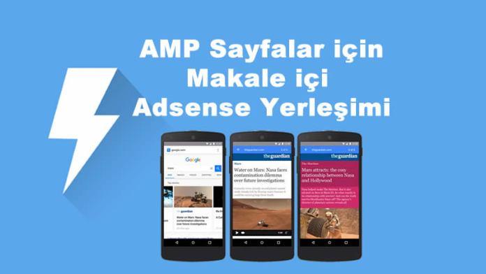 WordPress AMP Makale İçi Adsense Yerleşimi