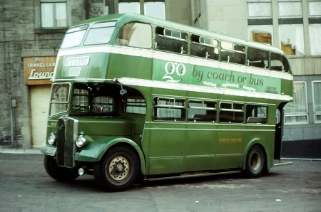 Image result for scottish busses of the 70s