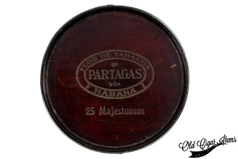 PARTAGAS Majestuosos Barrel top