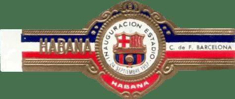 BAGUE FC BARCELONA - HABANA