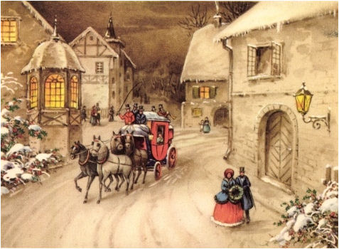 Christmas Victorian And Vintage Cards