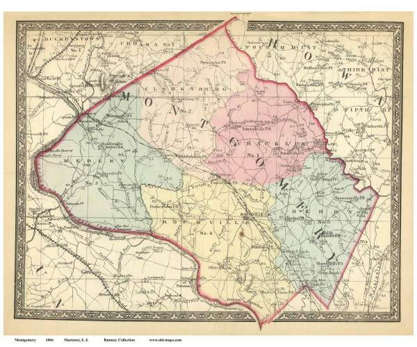 map of montgomery county md – bnhspine.com
