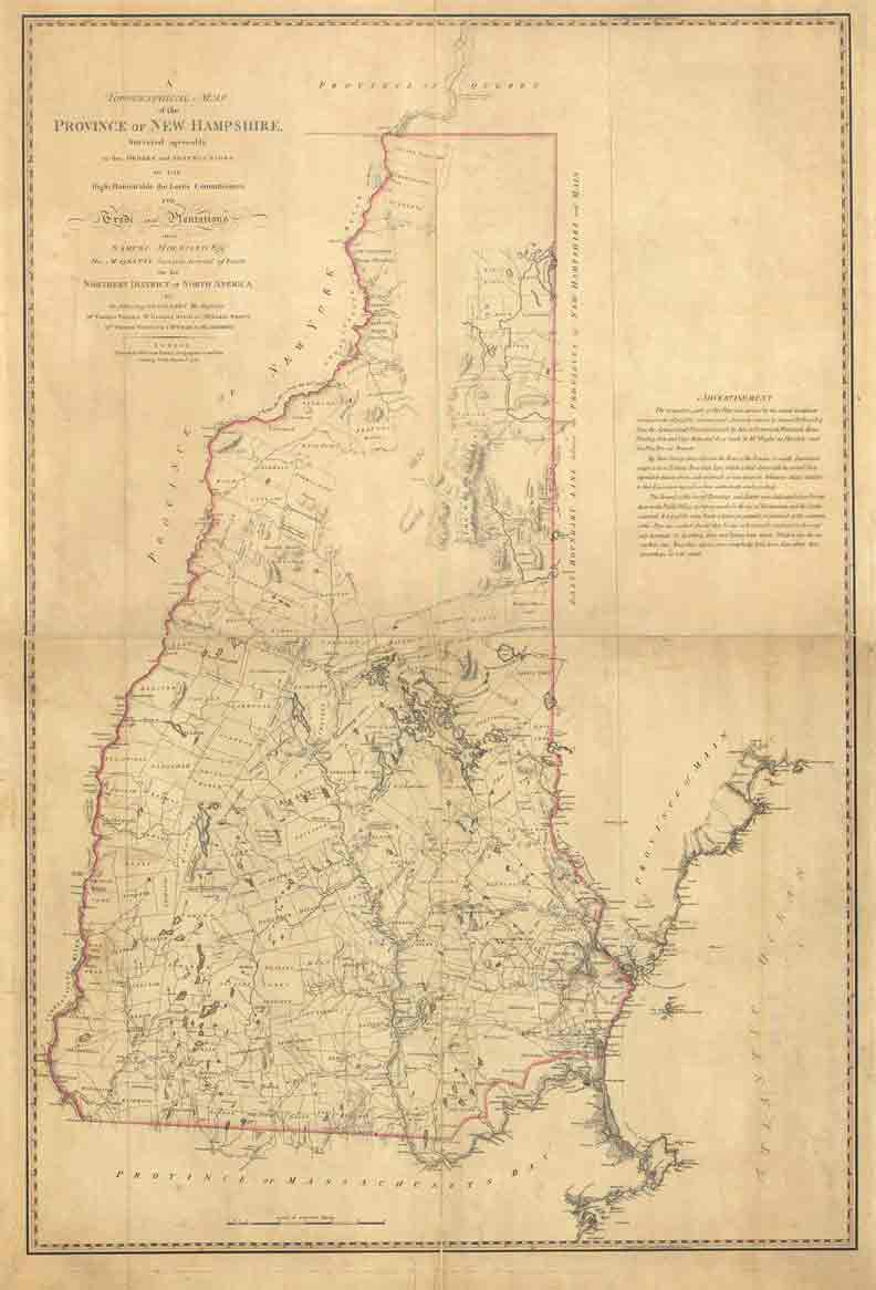 Holland Map Of Nh