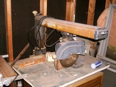 Old Craftsman Radial Arm Saw