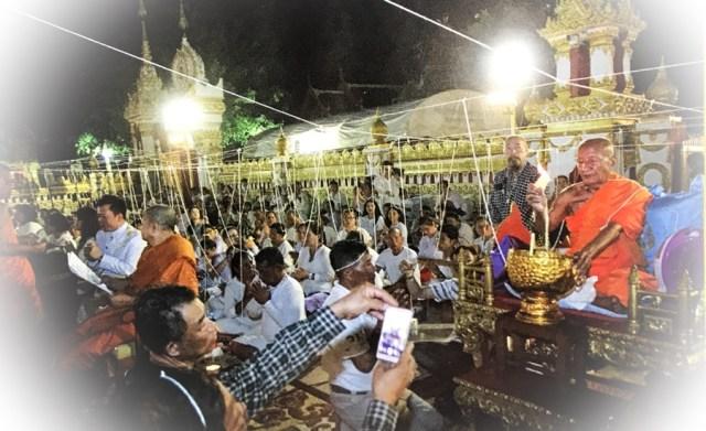 Buddha Abhiseka Luang Phu Khaeg Wat Pratat Panom