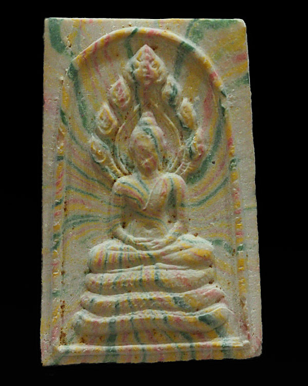 Pra Somdej Nakprok Sai Rung Yoo Yen Pen Sukh Amuley - Jao Khun Nor Wat Silakhant