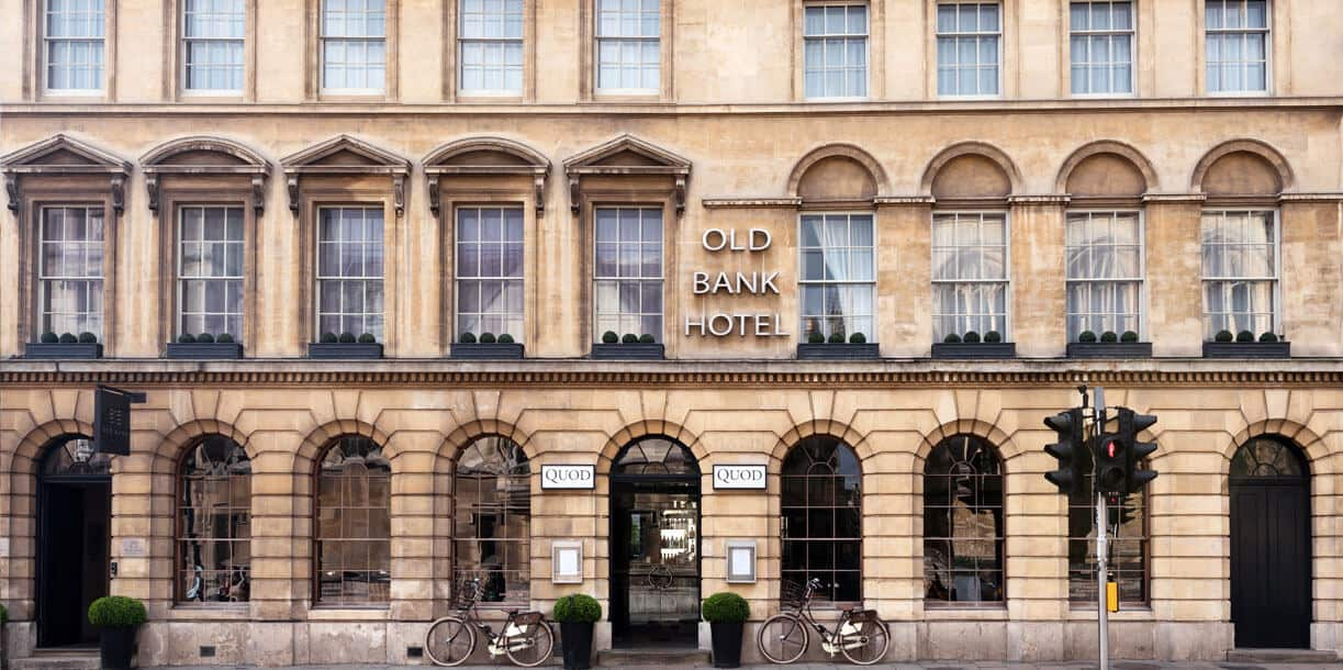Old Bank Hotel Luxury Five Star Hotel In Oxford