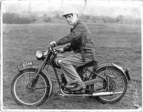 This 98cc James Comet was Ted Bemand's first 'proper' motorcycle – but if SKD 114 is still around, he doesn't want it back!