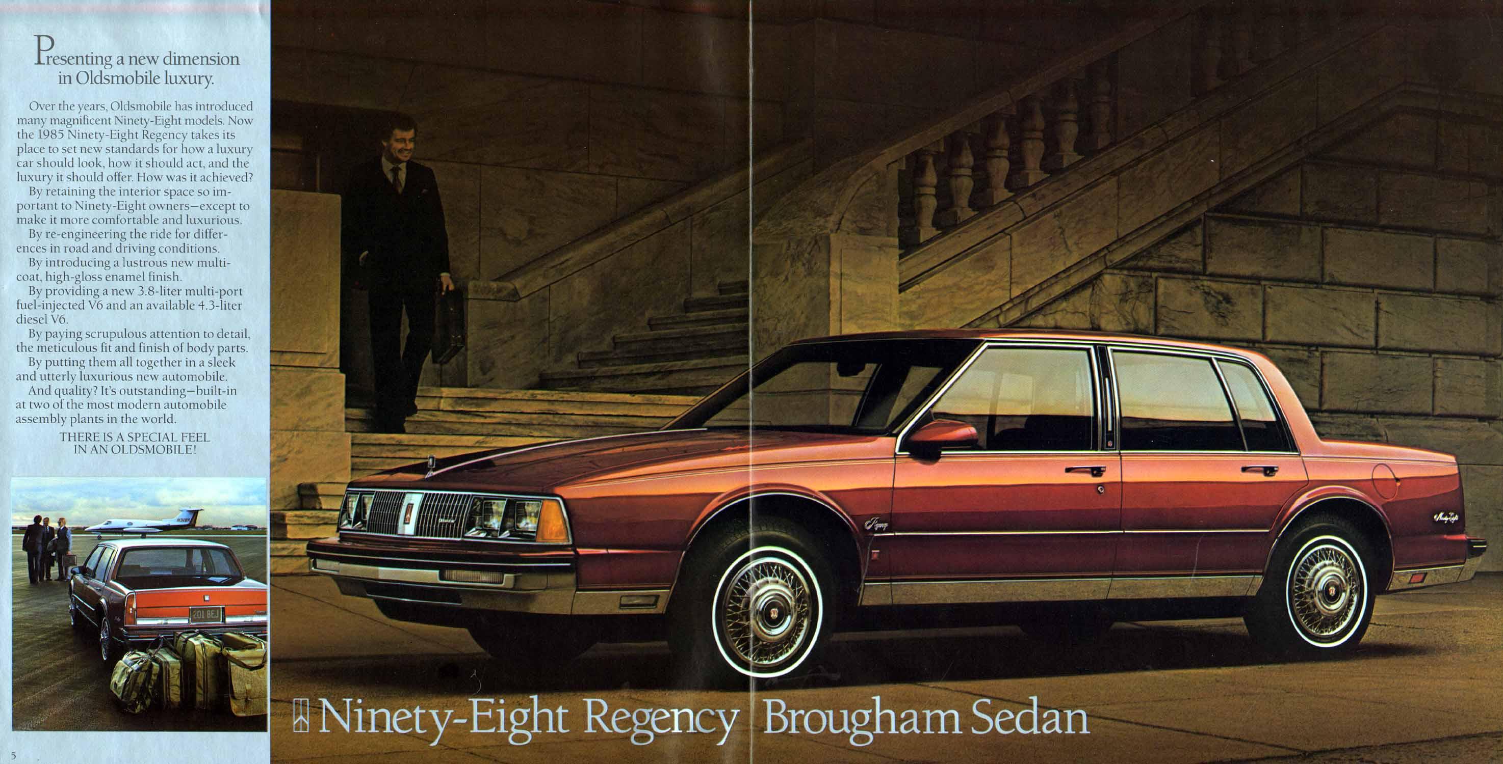 1985 oldsmobile ninety eight regency sedan eighties cars. Black Bedroom Furniture Sets. Home Design Ideas