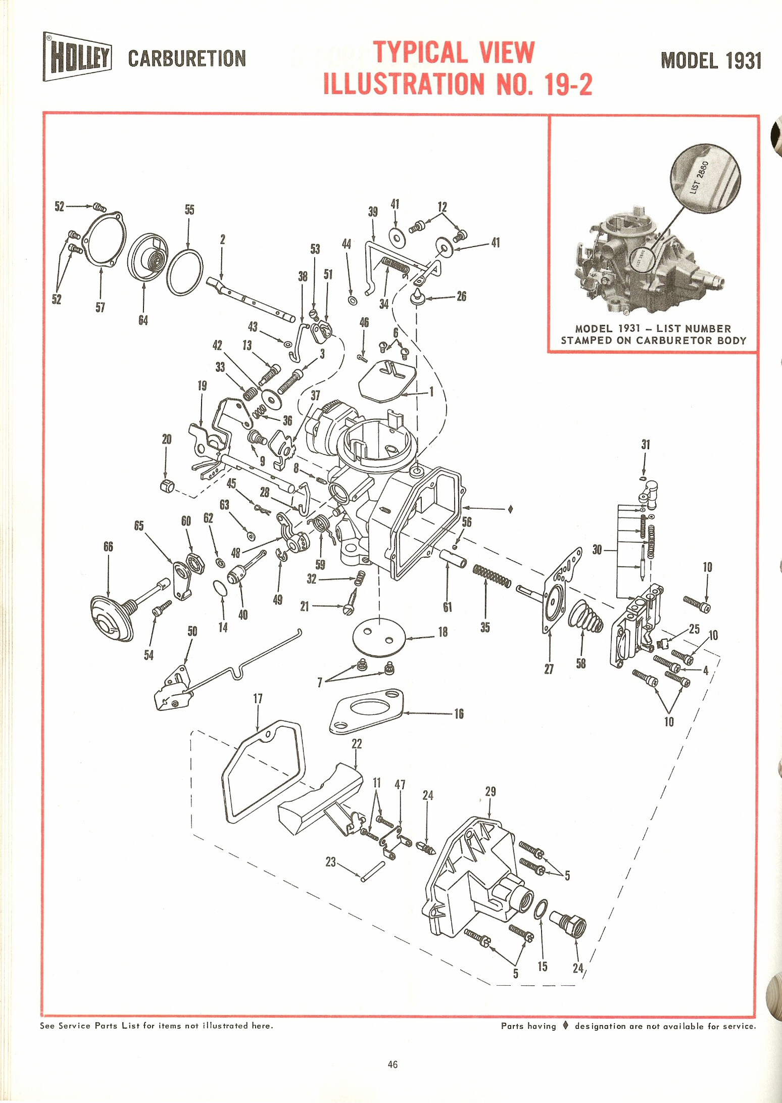 Holley Carburetors Diagrams Exploded 1909 The Old Car Manual Project
