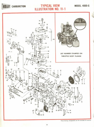 Holley G Exploded Diagrams
