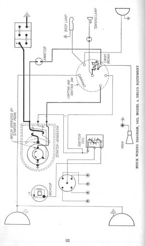 Early 1920's Apperson and Buick Wiring Diagrams  The Old