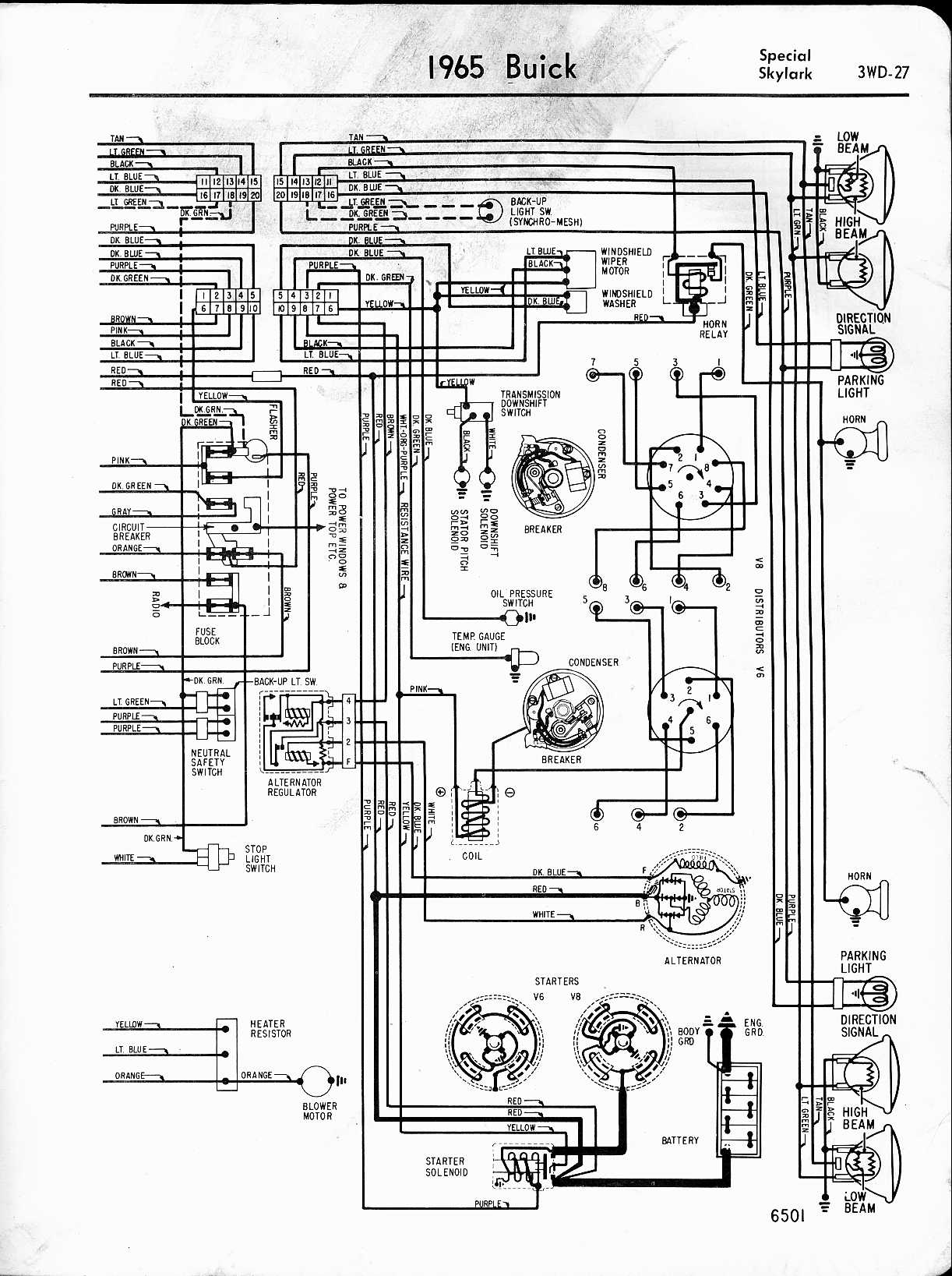 Dodge Valiant Wiring Diagram Schematic